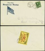 Cl26c Red Lake To East Orange Nj Roessler Semi Official Cover