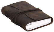 Handmade Leather Journal/writing Notebook Diary/bound Daily Notepad For Men And 8