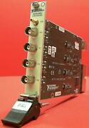 National Instruments Pxi-4462 137c0f5 Pxi Sound And Vibration Module