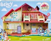 Bluey Blue Heeler Dog Bluey's Family Home House Playset Pack And Go Best For 2021