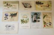 Charming Vintage Christmas And New Years Postcards 1913-1919 Some In German