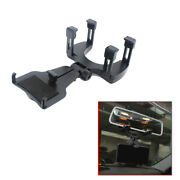 Car Accessories Rearview Mirror Mount Stand Holder Cradle Fit Cell Phone Gps