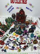 Mighty Max Storms Dragons Island Skull Mountain Playset 1993 Huge Mixed Lot Read