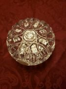 Lenox European Full Lead Crystal Made In Italy Covered Box