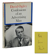 Confessions Of An Advertising Man Signed By David Ogilvy First Edition 1st 1963