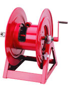 Alemlube 1-1/2 75and039 37kgs Bare Hand Crank Hose Reel 1185-1524
