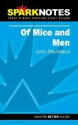 Of Mice And Men Sparknotes By Steinbeck, John Paperback Book The Fast Free