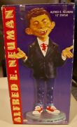 Vintage Alfred E. Neuman Mad Magazine 12andrdquo Statue New In Box Andndash Certified Mad