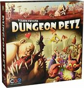 Dungeon Petz Board Game [czech Games Edition Animal Fantasy Humor] New