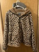Leopard Print Womenand039s Coat Plus Size 2x1820hat And 2 Pockets