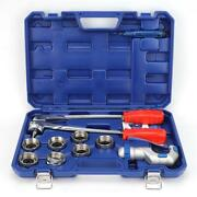 Ct-100a 10-28mm Manual Tube Expander Pipe Set W/ Case For Copper/aluminum Pipes