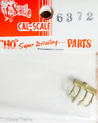Cal-scale Ho 6372 Relief Valve Gn Brass Casting 187th Scale Parts