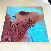 Roger Waters Signed Autographed Meddle Album Pink Floyd Beckett Bas Coa A40103