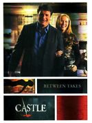 Castle Season 3 And 4 Behind The Scenes Foil Parallel Insert Card B1