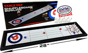 Mattyand039s Toy Stop 2-in-1 Shuffleboard Curling And Bowling Shot Glass Drinking Game