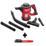 M18 18volt Lithiumion Cordless Compact Vacuum W/ Inkzall Black Fine Point Marker