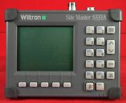 Anritsu S331a Sitemaster 25 To 3300 Mhz Cable And Antenna Analyzer