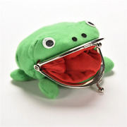 Hot Selling Frog Wallet Anime Cartoon Wallet Coin Purse Manga Flannel Walle