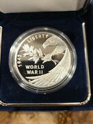 Brand New End Of World War Ii 75th Anniversary Silver Medal Ready To Ship