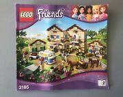 Lego Friends Summer Riding Camp Instruction Manual Only 3185-2