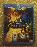 Beauty And The Beast Blu-ray+dvd 2010 Diamond Edition New With Slipcover
