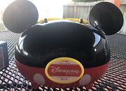 Disneyland Paris Mickey Mouse Lunch Box Carrier With Ears Free Shipping