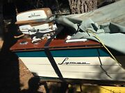 Vintage 1958 Johnson Seahorse Outboard Motor. Andnbspcompletely Rebuilt Top And Bottom