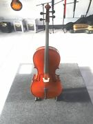 Eastman Vc95 3/4 Cello W/ Bow And Soft Exterior/inner Hard Shell Case