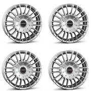 4 Borbet Wheels Cw3 8.5x19 Et40 5x127 Sil For Jeep Commander Grand Cherokee Wran