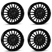4 Borbet Wheels Cw3 8.5x19 Et35 5x127 Sw For Jeep Commander Grand Cherokee Wrang