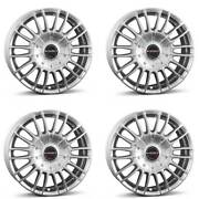 4 Borbet Wheels Cw3 9.0x21 Et40 5x120 Sil For Land Rover Discovery Range Rover S