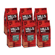Hills Bros.andreg Coffee Whole Bean Rainforest Blend Case Of 6 - 32 Oz Bags