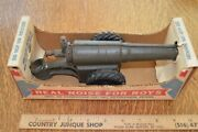 Vintage Big Bang Conestoga Cast Iron Metal Toy Field Military Artillery Cannon 6