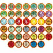 Two Rivers Assorted Tea Sampler Pack For Keurig K-cup Brewers 40 Count