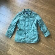 Little Girland039s And Girland039s Polo U.s Olive Military Jacket Small 7