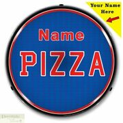 Pizza Sign 14 Led Light Custom Add Your Name Store Advertise Usa Warranty New