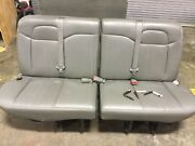 2010 Chevy Express Extended Van Oem Passenger 5th Fifth Row Bench Seat W/ Pins