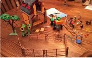 Playmobil Barn Set With Tractor 3909