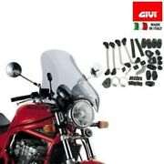 Screen Universal Maxi-motorcycle A34 Givi With Mounts D45