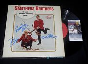 Smothers Brothers Tom And Dick Autographed Album Something I Said - Jsa Coa