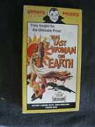 The Last Woman On Earth 2005 Vintage Video Vhs Rare Title Very Good Shape
