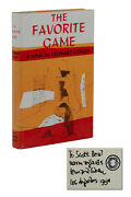 The Favorite Game Signed By Leonard Cohen First American Edition 1963 1st