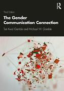 Gender Communication Connection By Teri Kwal Gamble English Paperback Book Fre