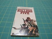 Killers Five Sunset Ranch By William Hopson Magnum Pulp Era Western Pb