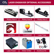 Laser Tube Power Chiller Rotary Axis Autofocus - Co2 Laser Engraver Accessories