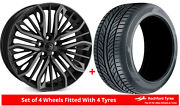 Alloy Wheels And Tyres 22 Hawke Vega For Land Rover Range Rover [l405] 12-20
