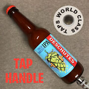New Deschutes Fresh Squeezed Ipa Draft Beer Tap Handle Marker Butte Obsidian