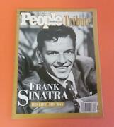 People Weekly Tribute Magazine - Frank Sinatra His Life His Way - May/june 1998
