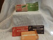 Vintage Lot/4 Putnam Fadeless Dyes And Tints 3 Full 1just The Package1 Rit