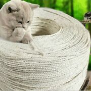 Sisal Rope 1m 3m 5m 10m For Cats Scratching Toys Cat Claw Desk Legs Binding Cord